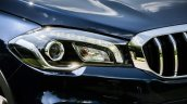 2017 (Maruti) Suzuki S-Cross (facelift) headlamp unveiled