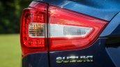2017 (Maruti) Suzuki S-Cross (facelift) taillamp unveiled