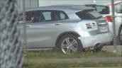 2017 Mercedes GLA rear three quarters spy shot