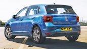 2017 VW Polo rear three quarters rendering