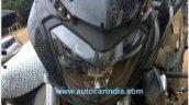 Bajaj Pulsar CS400 headlamp spy shot
