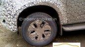 Chevrolet Trailblazer facelift wheel spied  in India