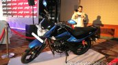 Hero Splendor iSmart 110 front quarter launch