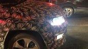 Jeep 551 (Jeep C-SUV) headlights on spy shot