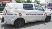 Mahindra MPV (Toyota Innova rival) side spied testing in Chennai