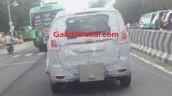 Mahindra MPV rear spied testing
