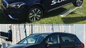 (Maruti) Suzuki S-Cross facelift vs Older model side Old vs New