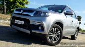 Maruti Vitara Brezza front three quarter left full review