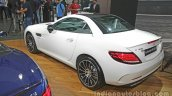 Mercedes-AMG SLC 43 rear three quarter launched in India