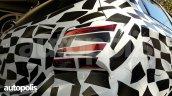 New Chevrolet Onix (facelift) tail lamp spy shot