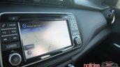 Nissan Kicks dashboard side view
