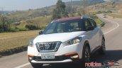 Nissan Kicks driving shot