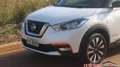 Nissan Kicks front fascia