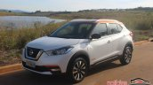 Nissan Kicks front three quarters left side