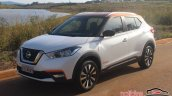 Nissan Kicks front three quuarters