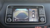 Nissan Kicks infotainment system parking camera