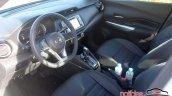 Nissan Kicks interior dashboard