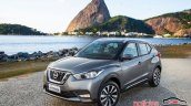 Nissan Kicks official image front three quarter scenic view