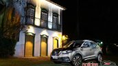 Nissan Kicks official image front three quarters left side parked
