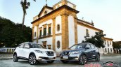 Nissan Kicks official image front three quarters parked