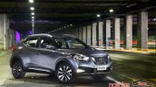 Nissan Kicks official image front three quarters
