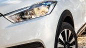 Nissan Kicks official image headlamp and fog lamp on