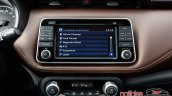 Nissan Kicks official image infotainment system