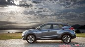 Nissan Kicks official image left side scenic view