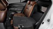 Nissan Kicks official image rear-seat folding