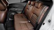 Nissan Kicks official image rear seats