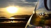 Nissan Kicks official image tailgate badge fifth image