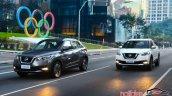 Nissan Kicks official image urban driving shot