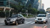 Nissan Kicks official image urban driving