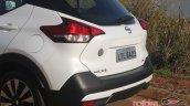 Nissan Kicks rear fascia