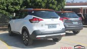 Nissan Kicks rear three quarters standstill