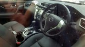 Nissan X-Trail Hybrid interior spy shot