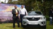 Renault Kwid front Kenya launch