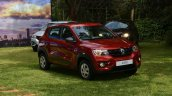Renault Kwid front three quarters Kenya launch