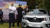 Renault Kwid silver Kenya launch