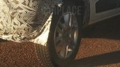 Renault Kwid wheel spy shot