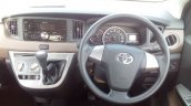 Toyota Calya interior dashboard driver side spy shot