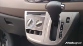 Toyota Calya mini MPV automatic gear selector in Images