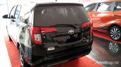 Toyota Calya mini MPV rear quarter in Images