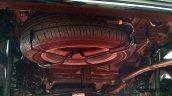 Toyota Calya mini MPV spare tire in Images