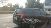 Toyota Calya spy shot Indonesia