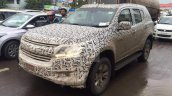 2016 Chevrolet Trailblazer (facelift) front three quarters spy shot