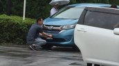 2016 Honda Freed spied Japan