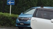 2016 Honda Freed spy shot Japan
