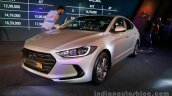 2016 Hyundai Elantra front three quarter launched in India