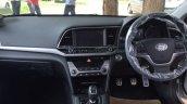 2016 Hyundai Elantra interior fully revealed in India, arrives at dealer yard